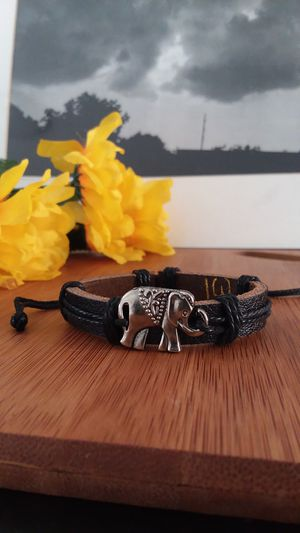 1PC Beautiful Authentic Black Elephant Bracelet for Sale in Chicago, IL