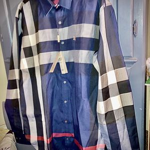 Burberry ~ Men's Long sleeved Button Up Dress Shirt for Sale in Mountlake Terrace, WA