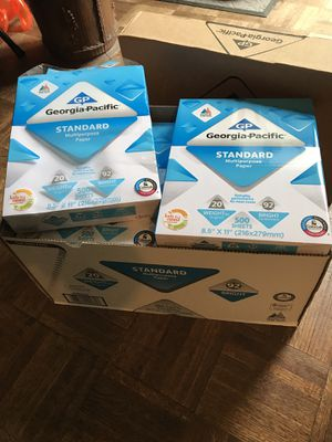 Printer Paper, 8-1/2 x 11, 5000 Sheets for Sale in Middleburg Heights, OH