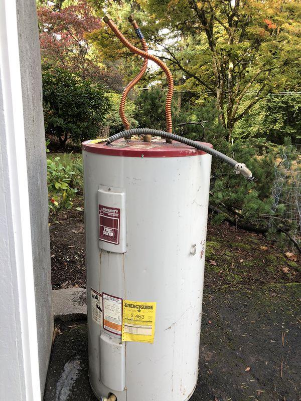 Free scrap metal (water heater)