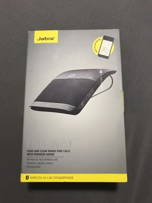 JABRA FREEWAY Hands free calls car Bluetooth speakerphone for Sale for sale  Mission Viejo, CA