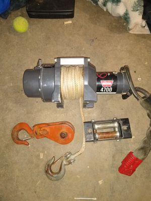 Warn winch 4700 pound for Sale in Beaverton, OR