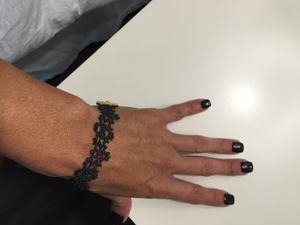 Badines Black Lace Bracelet for Sale in Houston, TX