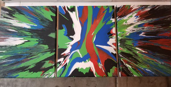 Spin Art Trifecta