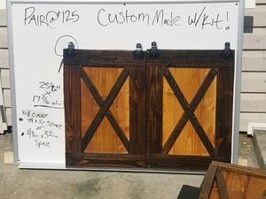 Cabinet barn doors for Sale in Snellville, GA