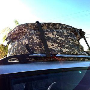 For car van suv roof top cargo rack carrier soft waterproof luggage travel storage bike bag for Sale in Covina, CA