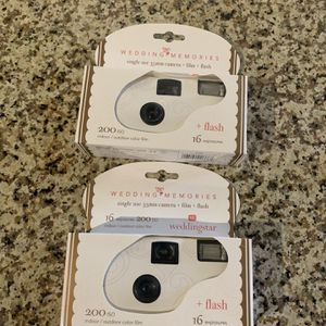 Disposable Wedding Cameras With Flash for Sale in Tempe, AZ