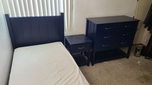 Pottery Barn furniture set - twin bed, nightstand, dresser for Sale in Chula Vista, CA
