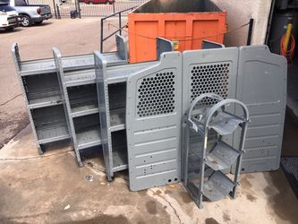 Truck shelving / refrigerant rack / bulkhead for Sale in Phoenix,  AZ
