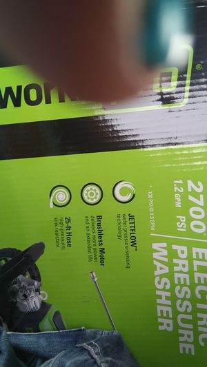 Greenworks electric pressure washer for Sale in Fife, WA