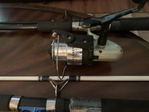 Quantum surf rods and reel for Sale in Charles City, VA