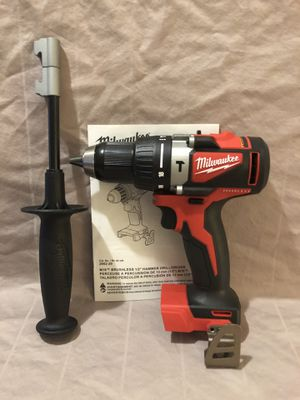 Brand new never used Dewalt M18 brushless hammer drill. Tool only for Sale in Vacaville, CA