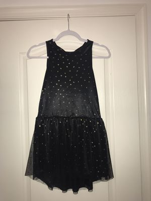 GIRLS black dress size LARGE for Sale in Fort Washington, MD