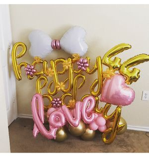 Birthday balloons for Sale in Arlington, TX