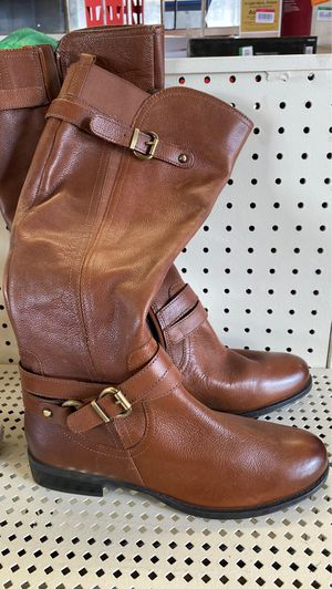 Naturalized brown boots size 8.5 for Sale in National City, CA