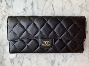 Chanel 2019 Classic Long Flap Wallet Black for Sale in Columbia, SC