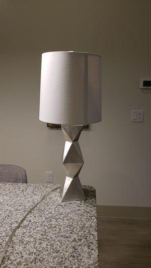 Silver lamp for Sale in Dallas, TX