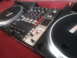 Mixars STA with Denon Dnx1600 Dj Vinyl Turntable for Sale in LUTHVLE TIMON, MD