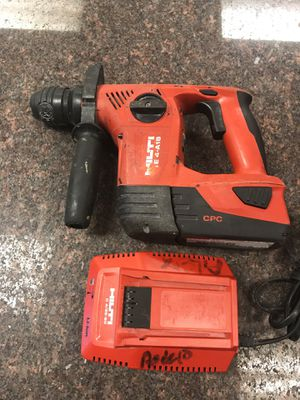 Hilti TE 4 22-Volt Lithium-Ion SDS-Plus Cordless Rotary Hammer Drill wireless for Sale in Austin, TX