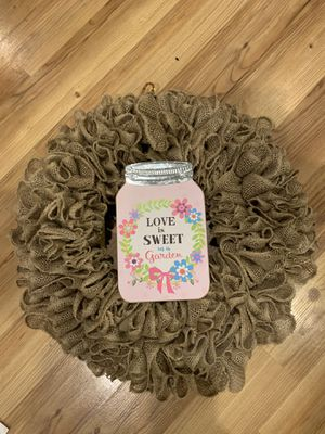 Burlap wreath bases. for Sale in Neosho, MO