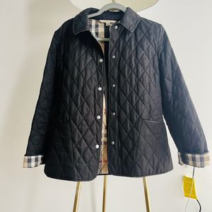 Burberry Brit black quilted jacket size small for Sale in Chicago, IL