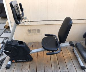 Pro-Form 120 Recumbent Exercise Bike -TAKING OFFERS! for Sale in San Jose, CA