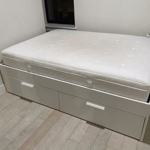 Ikea brimmes full size bed frame for Sale in Brooklyn, NY