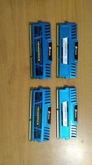 DDR3 16gb×4 1600 MHz Corsair OBO for Sale in Glendale, AZ
