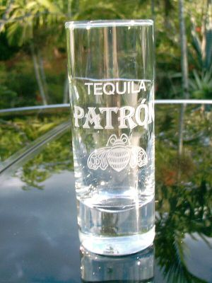 Patron Tequila shot glasses for Sale in Austin, TX