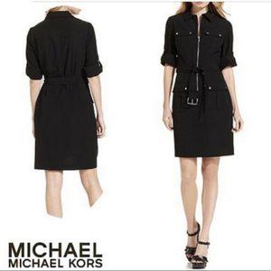 Michael Kors Black Aviator Dress Size 1X for Sale in West Palm Beach, FL