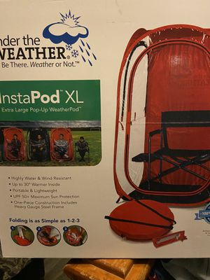Under The Weather Instapod Pop-up Tent Shade Sports Camping Outdoor Pod for Sale in El Paso, TX