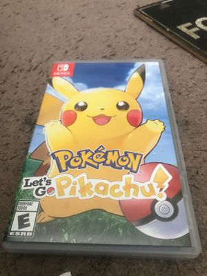 Let's go pikachu for Sale in Suitland-Silver Hill, MD