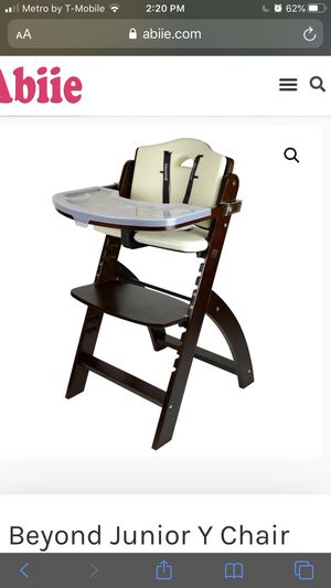 Abiie Beyond Wooden High Chair for Sale in Citrus Heights, CA