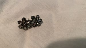 Snow flake black earrings for Sale in Silver Spring, MD