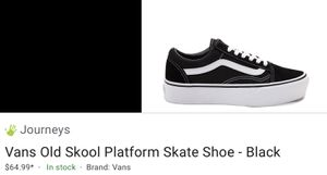 Platform vans!! Very cheap for Sale in Florissant, MO