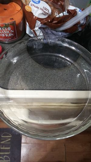 Pyrex microwavable glass pie dish for Sale in NO FORT MYERS, FL