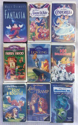 15 Kids VHS Lot / Bundle ~ Most Walt Disney for Sale in Fresno, CA