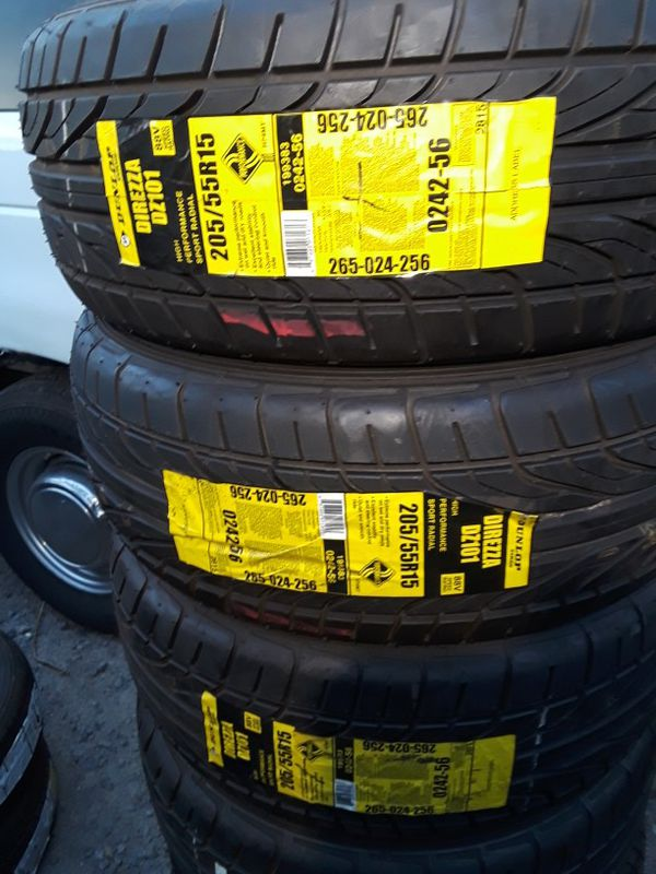 205/55-15 #4 new tires