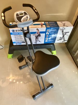 Bike Cardio Folding Exercise Bike Bicycle for Sale in Davie, FL