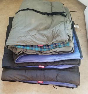 Coleman adult sleeping bag for Sale in Canyon Lake, TX