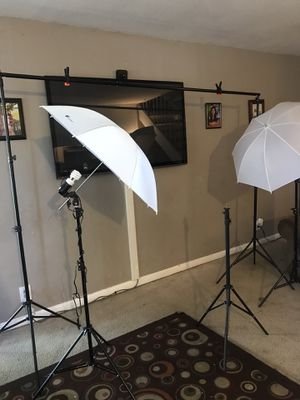 Full set of lighting studio photography for Sale in San Jose, CA