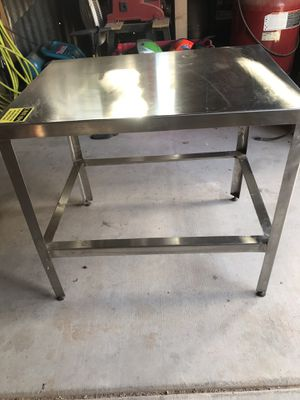 Stainless steel table for Sale in Young, AZ