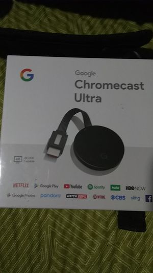 Google Chromecast Ultra for Sale in Clovis, CA