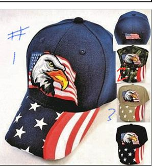 EAGLE WITH FLAG HAT [PRINTED FLAG BILL] for Sale in Houston, TX