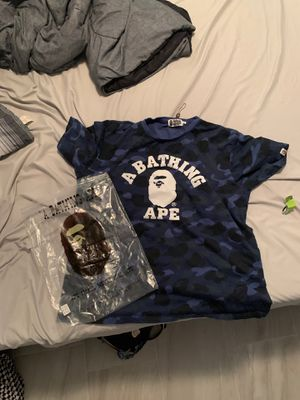 Bape shirt, fits like large or XL for Sale in Winter Garden, FL