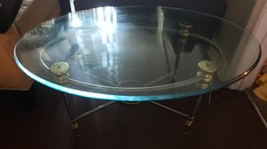 Glass coffee table for Sale in West Palm Beach, FL