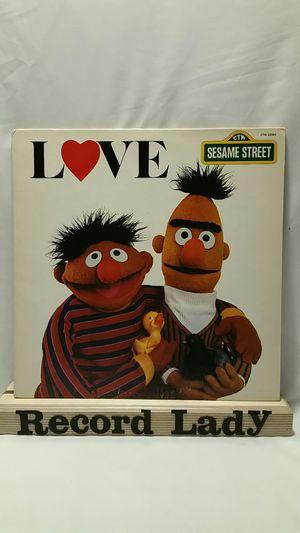 "Sesame Street ""Love"" children songs vinyl record for Sale in San Diego, CA"