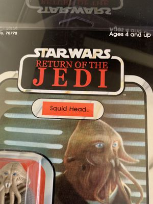 Star Wars carded action figure for Sale in Greenville, SC