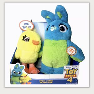 Toy Story 4- Ducky & Bunny (Brand New) Friendship Plush for Sale in Chelmsford, MA