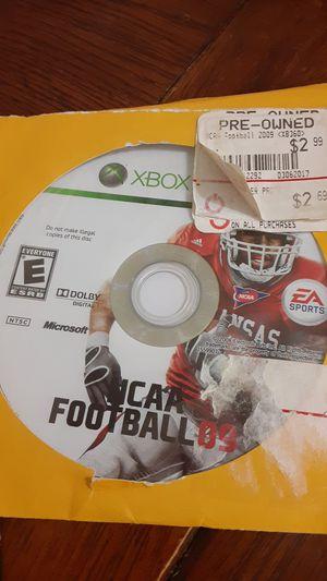 Ncaa football 09 xbox360 for Sale in Grand Saline, TX